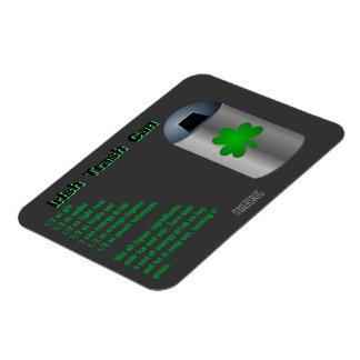 Irish Trash Can Drink Recipe Rectangular Photo Magnet