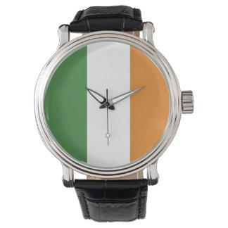 Irish Tri Color Flag Watch