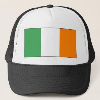 Irish tricolour cap