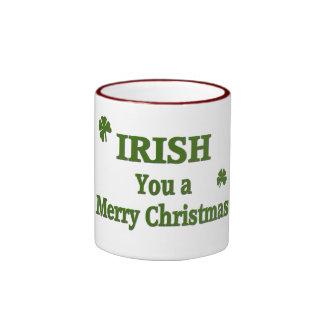 Irish U Ringer Coffee Mug