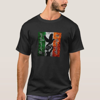 Irish Unity Tricolor Flag Mens TShirt