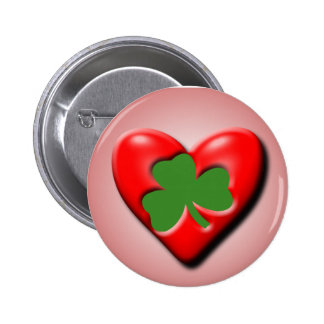 Irish Valentine 6 Cm Round Badge