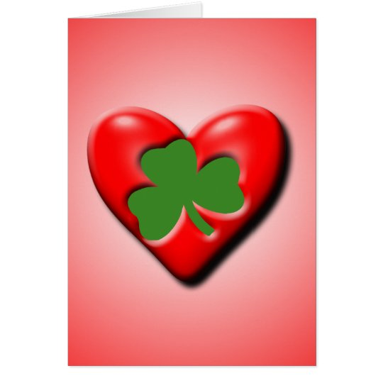 Irish Valentine Card