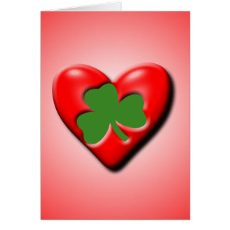 Irish Valentine Greeting Card