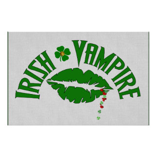 Irish Vampire Print