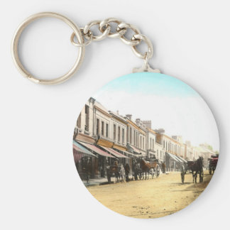 Irish Village  Keychain