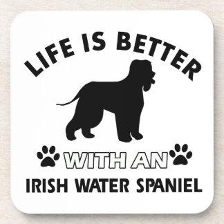 Irish Water Spaniel Dog breed Beverage Coaster