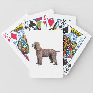 Irish Water Spaniel Dog Playing Cards