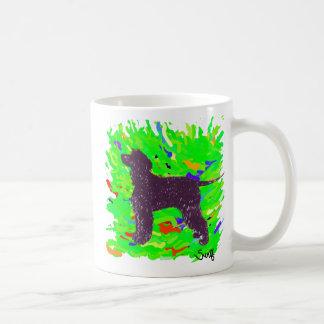 Irish Water Spaniel Coffee Mugs