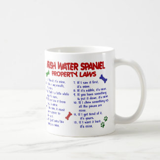 IRISH WATER SPANIEL PL2 BASIC WHITE MUG