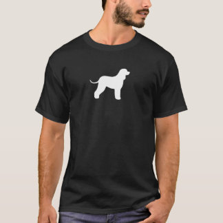 Irish Water Spaniel Silhouette T-Shirt
