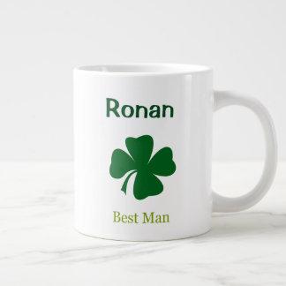 Irish Wedding Best Man Personalized Mug