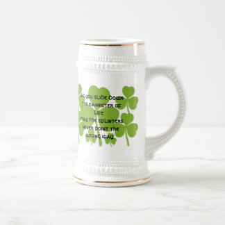 Irish  Wedding Blessing - Beer Stein