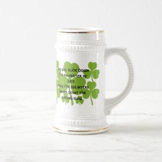Irish  Wedding Blessing - Beer Steins