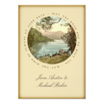 Irish Wedding Lake in Kerry Ireland and Blessing 13 Cm X 18 Cm Invitation Card