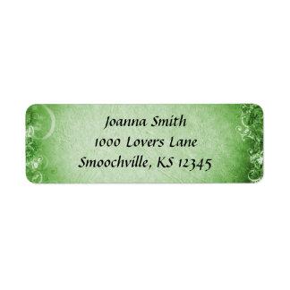 Irish Wedding Return Address Label