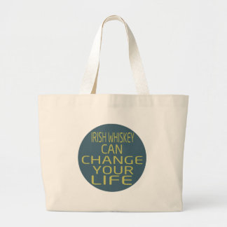 Irish Whiskey Can Change Your Life Canvas Bag