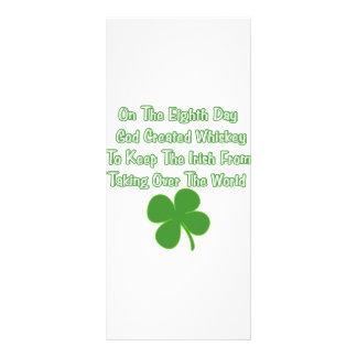 Irish Whiskey Custom Rack Cards