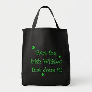 Irish Whiskey Done it! Bag