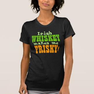 Irish Whiskey Makes Me Frisky T-Shirt