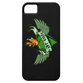 Irish Winged Heart iPhone 5 Case