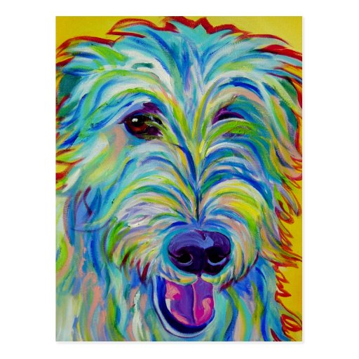 Irish Wolfhound #1 Postcard