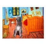 Irish Wolfhound 1 - Room at Arles Postcards