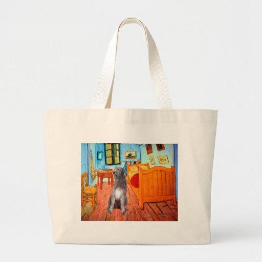 Irish Wolfhound 1 - Room at Arles Tote Bag