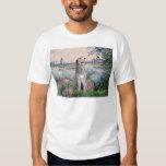 Irish Wolfhound 6 - By the Seine Shirt
