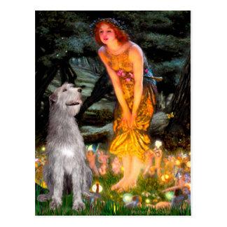 Irish Wolfhound 6 - MidEve Postcards