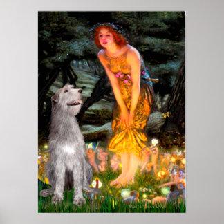 Irish Wolfhound 6 - MidEve Poster