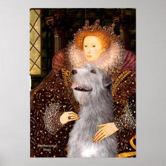 Irish Wolfhound 6 - Queen Poster