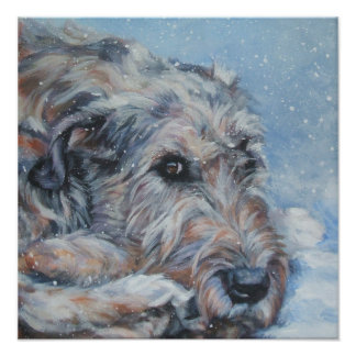 Irish Wolfhound Art Print