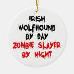 Irish Wolfhound by Day Zombie Slayer by Night