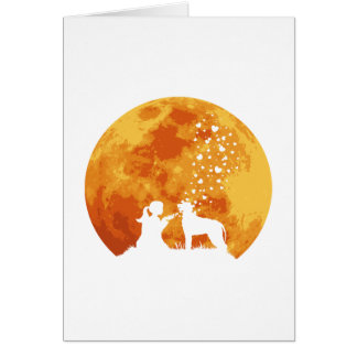 Irish Wolfhound Card