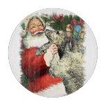 Irish Wolfhound Christmas Cutting Board