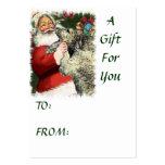 Irish Wolfhound Christmas Gifts Business Cards