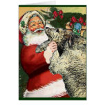 Irish Wolfhound Christmas Gifts Cards