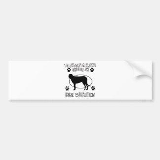 IRISH WOLFHOUND DOG designs Bumper Sticker