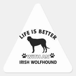 Irish Wolfhound Dog designs Stickers