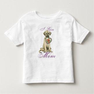 Irish Wolfhound Heart Mom Shirts