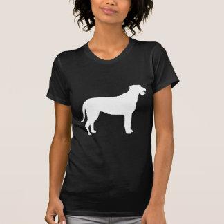 Irish Wolfhound (in white) Tees