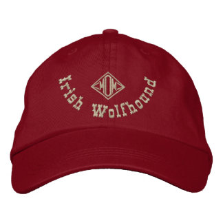 Irish Wolfhound Mom Gifts Embroidered Hat