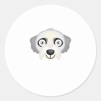 Irish Wolfhound - My Dog Oasis Round Sticker