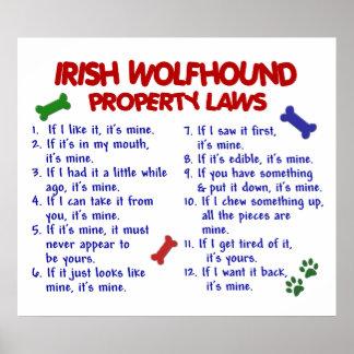 IRISH WOLFHOUND PL2 POSTER