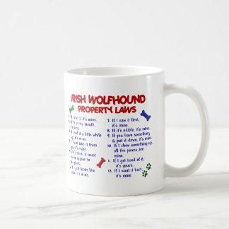 IRISH WOLFHOUND Property Laws 2 Coffee Mug