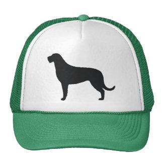 Irish Wolfhound Silhouette Cap