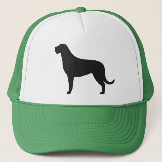 Irish Wolfhound Silhouette Trucker Hat