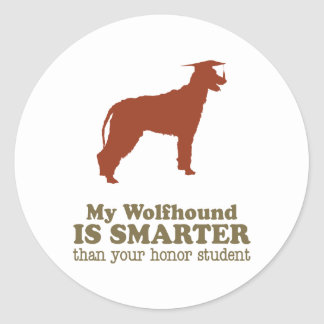 Irish Wolfhound Sticker