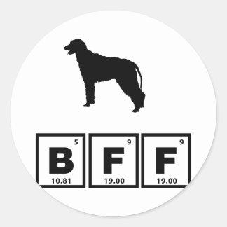 Irish Wolfhound Stickers